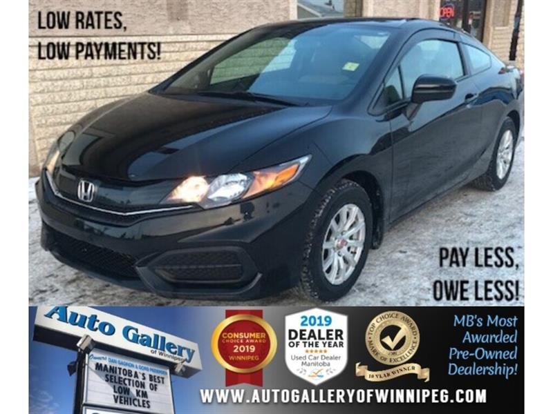 2015 Honda Civic Coupe LX *Only 21,000 KM/B.tooth/Back.Cam #24234