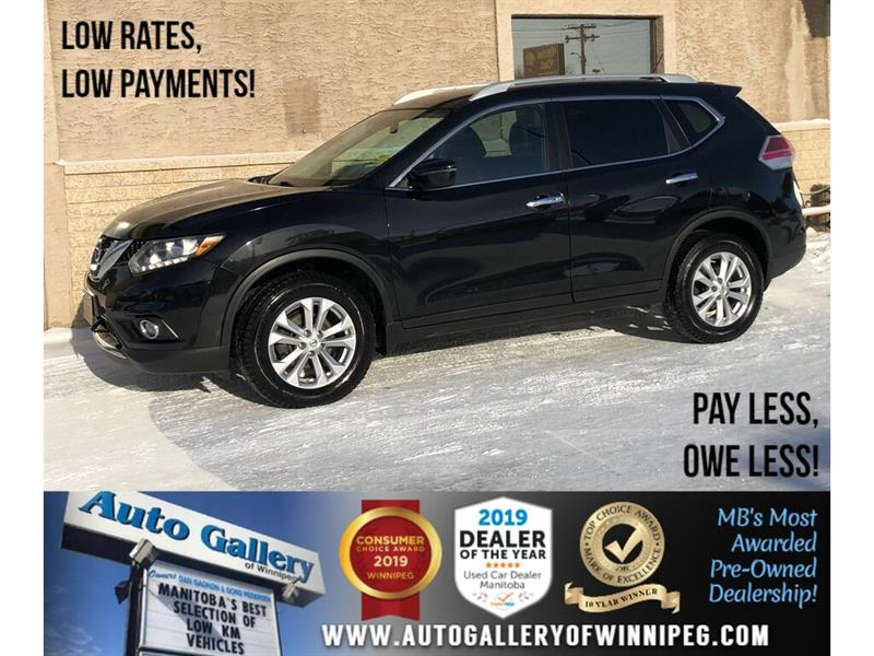 2016 Nissan Rogue SV *AWD/Bluetooth/Backup Cam/Htd Seats #24265