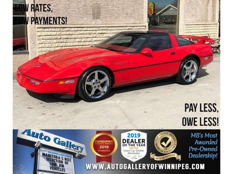1987 Chevrolet Corvette C4 Z52 *Fully Custom/Supercharged! #23911