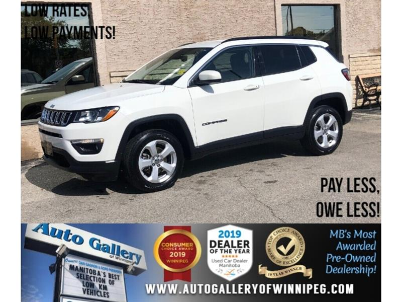 2018 Jeep Compass North *4x4/B.tooth/Back.Cam/Htd Lthr/9Spd Auto #PR-24069