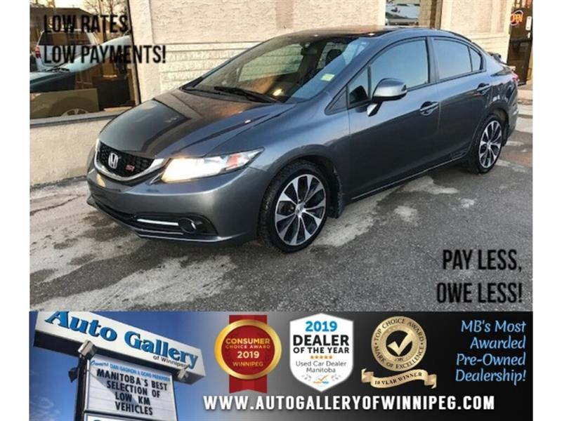 2013 Honda Civic Si *Local Trade/MB Only/Navi/B.tooth/Roof/6Spd #24024A