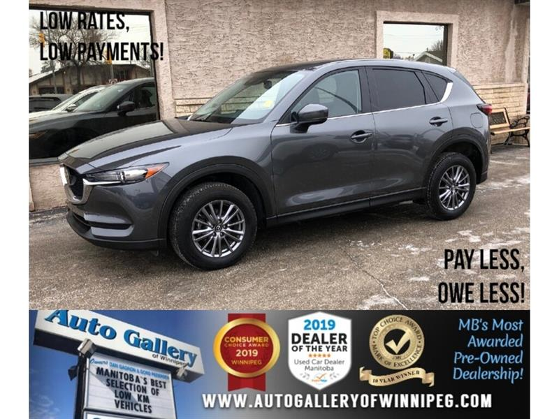 2018 Mazda CX-5 GS *AWD/B.tooth/Back.Cam/Roof/Htd Lthr #24136