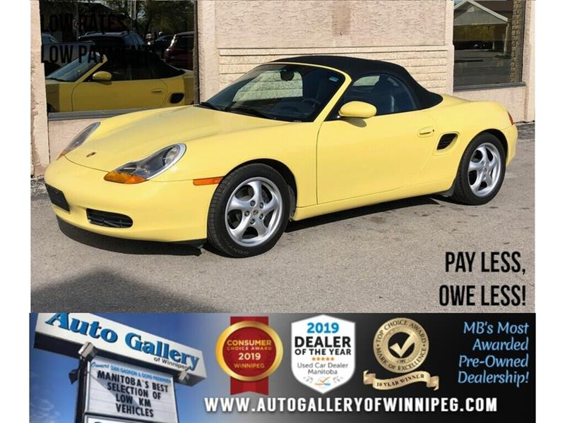 1999 Porsche Boxster *MB ONLY Vehicle/RWD/Lthr/Convertible/Low KMs! #24140