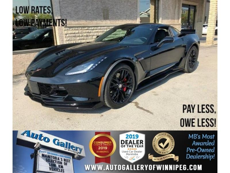 2018 Chevrolet Corvette Z06 3LZ *Supercharged/Navi/Htd Lthr/Back.Cam #23347