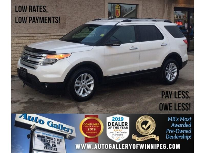 2012 Ford Explorer XLT *Local Trade/AWD/B.tooth/Hts Seats/7Pass #23948A