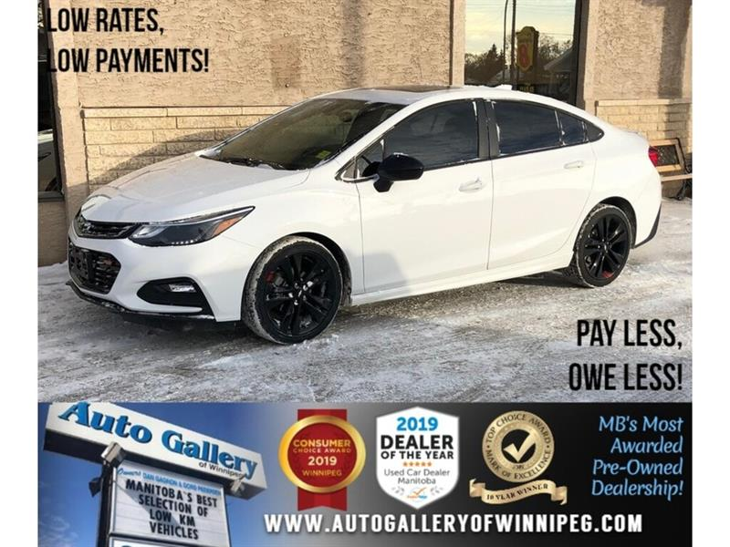 2018 Chevrolet Cruze LT *Bluetooth/Back.Cam/Htd Seats/Roof #24210