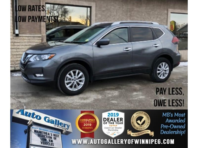 2019 Nissan Rogue SV *Local Unit/AWD/B.tooth/Htd Seats/Pano #24233