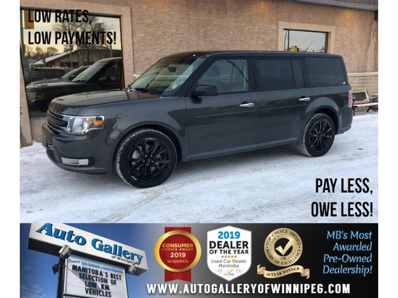 2019 Ford Flex SEL *AWD/Navi/B.tooth/Pano Roof/Htd Lthr/7Pass #24272