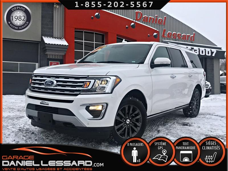 Ford Expedition 2019 LIMITED MAX * PAS VGA *  8 PLACES, 3.5 ECOBOOST ++ #99722