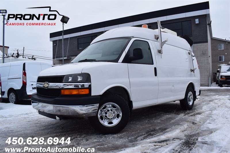 2009 Chevrolet Express Cargo Van 2500 ** 4.8L ** Toit Surélevé **  #1198