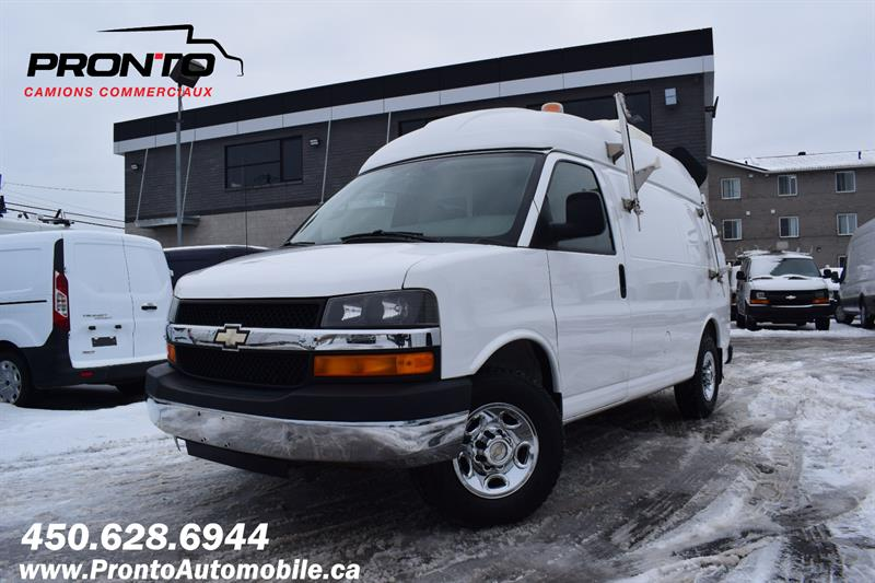 Chevrolet Express Cargo Van 2