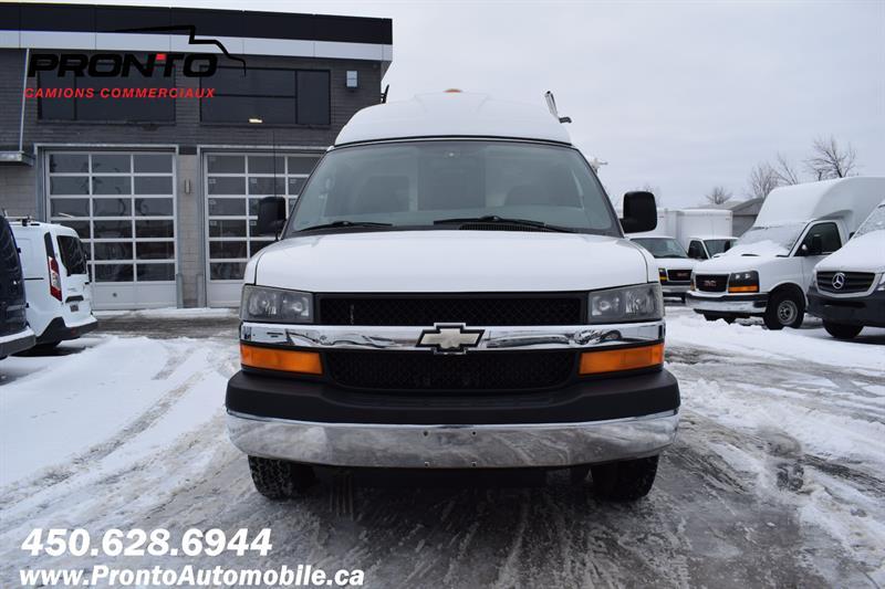 Chevrolet Express Cargo Van 4