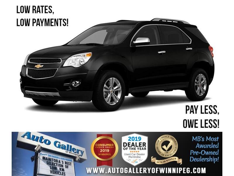 2011 Chevrolet Equinox LT *Local Trade/AWD/Lthr/Roof #24253A