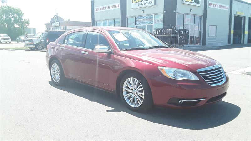 2013 Chrysler 200 Limited #P493