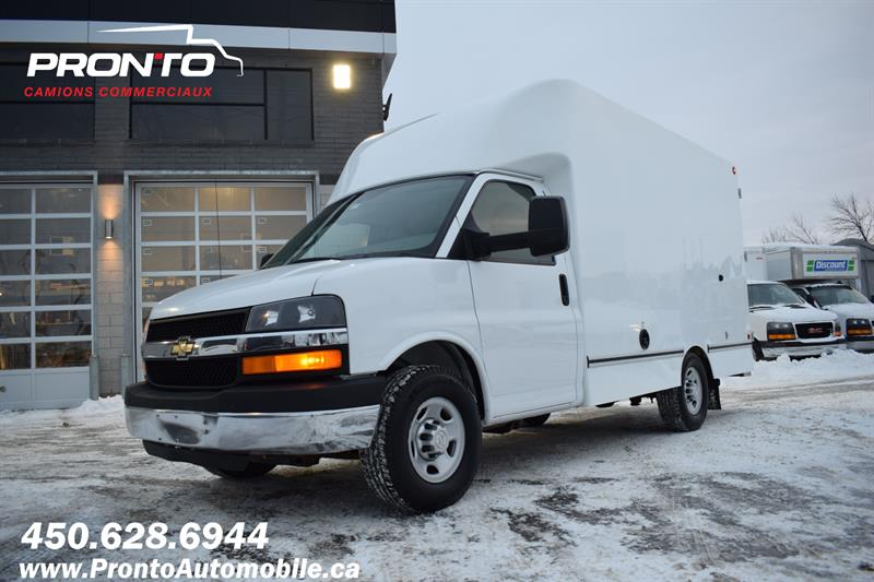 Chevrolet Express Commercial Cutaway 2015 3500 ** CUBE 12 PIEDS ** 4.8L **  #1200