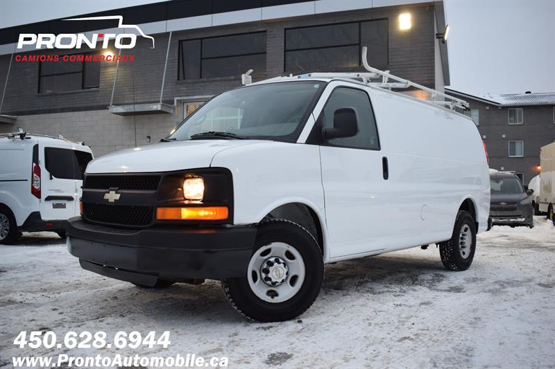 Chevrolet Express Cargo Van 2012 2500 ** 4.8L ** Gr. Électrique ** Full rack **  #1202
