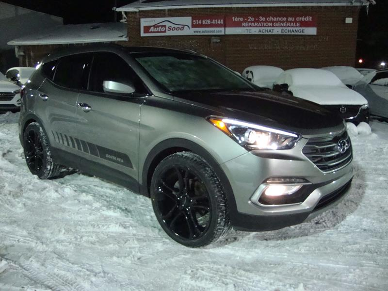 Hyundai Santa Fe Sport 2018 AWD 22MAGS-BLUETOOTH-CAMERA-HEATED STEERING #S40-4416
