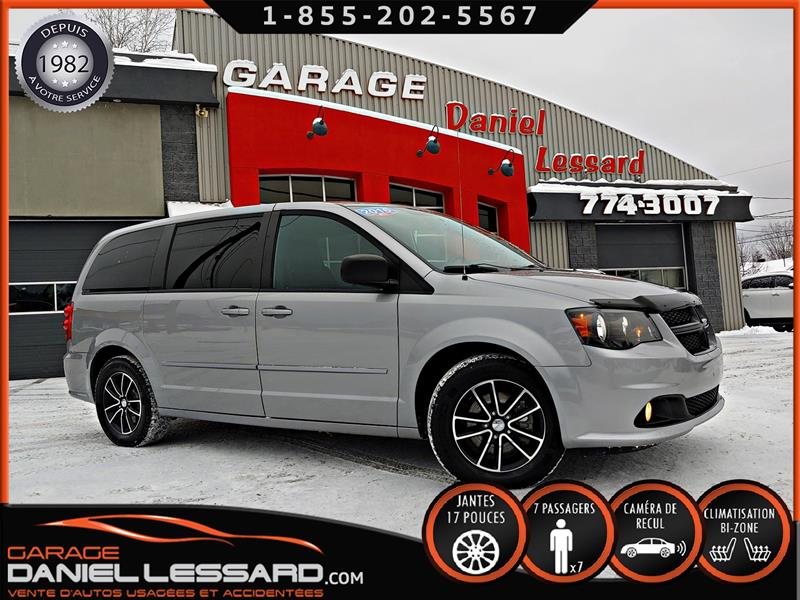 Dodge Grand Caravan 2016 SXT BLACKTOP STOW N' GO 7 PLACES, DVD, CAM RECUL #69539