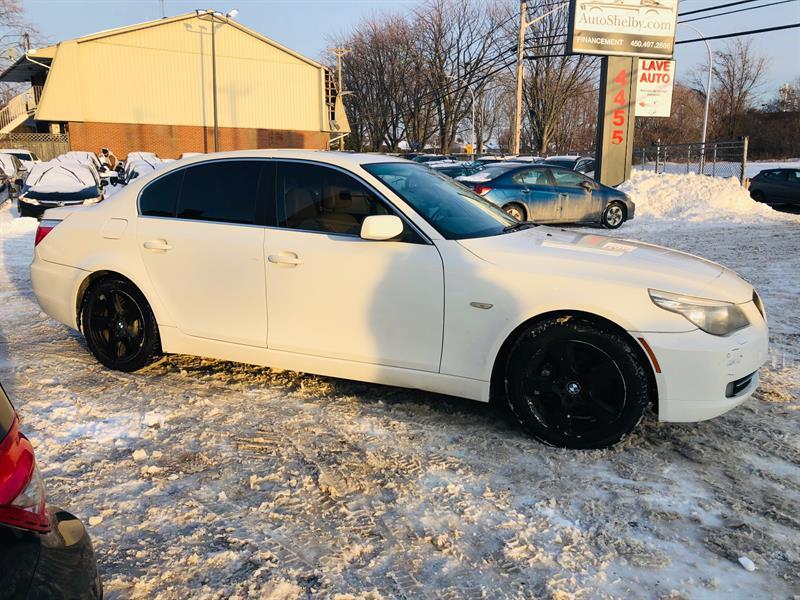 BMW 5 Series 2008 AWD-Cuir-Air-Mags-Toit-Bluetooth-Siéges Chauffant #98752
