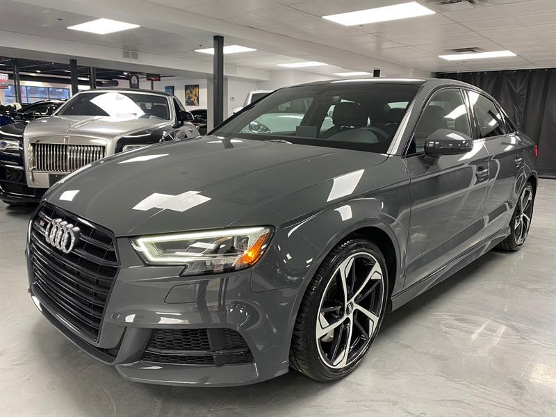 2019 Audi S3 Sedan Progressiv 2.0 TFSI QUATTRO #SN9910