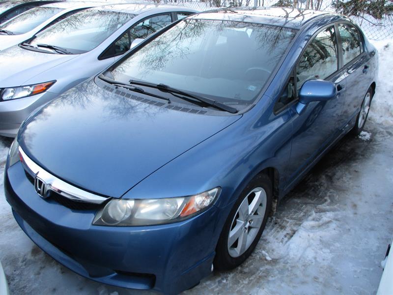 2009 Honda Civic Sdn 4dr Man Sport 5 SPEED #9H013124A