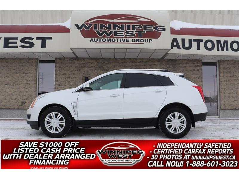 2015 Cadillac SRX AWD LUXURY COLLECTION, LOADED WITH ALL OPTIONS #GNW5431