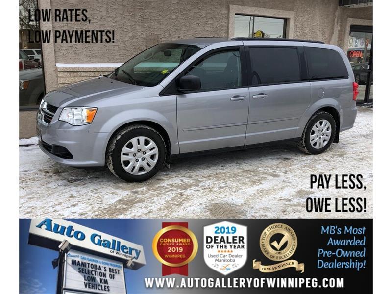 2016 Dodge Grand Caravan SXT *Bluetooth/Rear Air/7 Pass #24160
