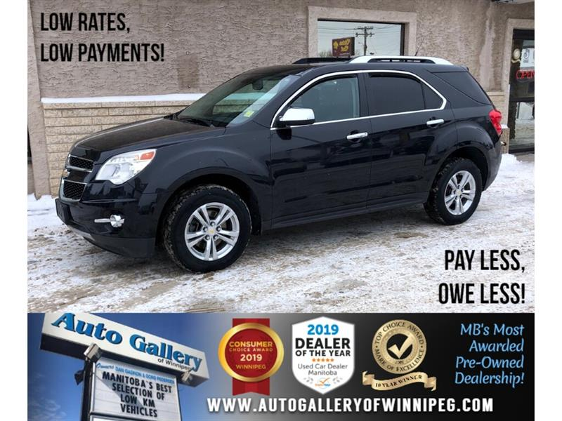 2011 Chevrolet Equinox LT *Local Trade/AWD/Htd Lthr/Roof/Pwr Gate #24253A
