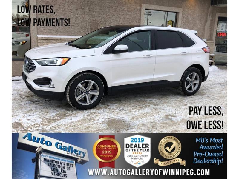 2019 Ford EDGE SEL *AWD/Navi/B.tooth/B.Cam/Htd Seats/Pano Roof #24285