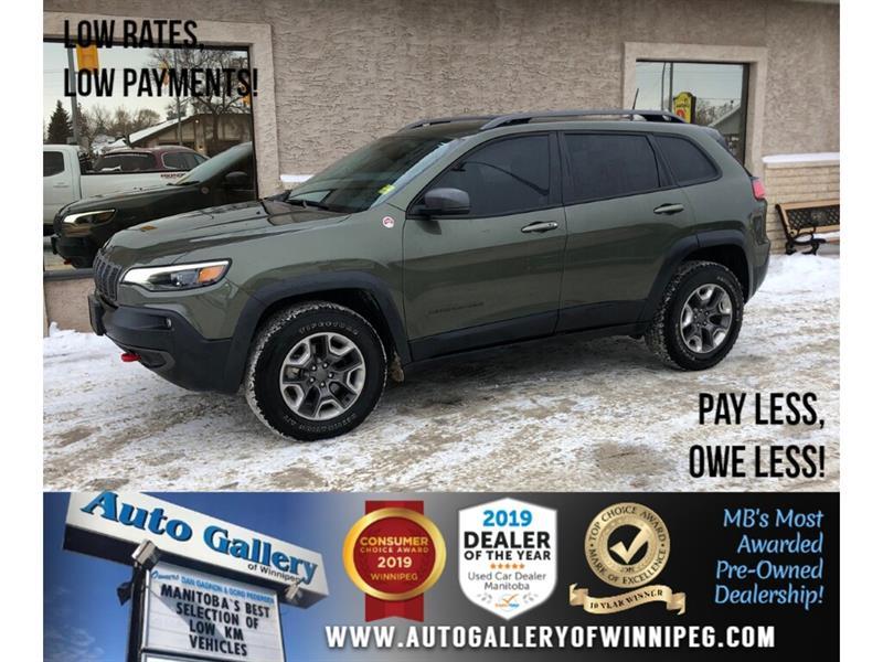 2019 Jeep Cherokee Trailhawk Elite *AWD/B.tooth/Htd Lthr/B.Spot/V6 #24286