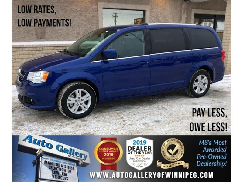 2019 Dodge Grand Caravan Crew Plus *Navi/B.tooth/DVD/Htd LthrPwr Doors/V6 #24288