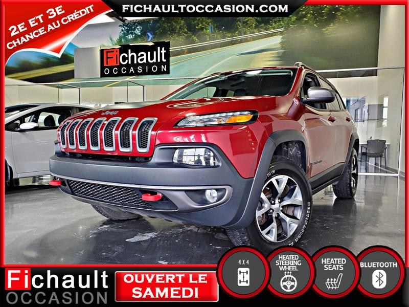 2015 Jeep  Cherokee Trailhawk V6*** ROUES D HIVER