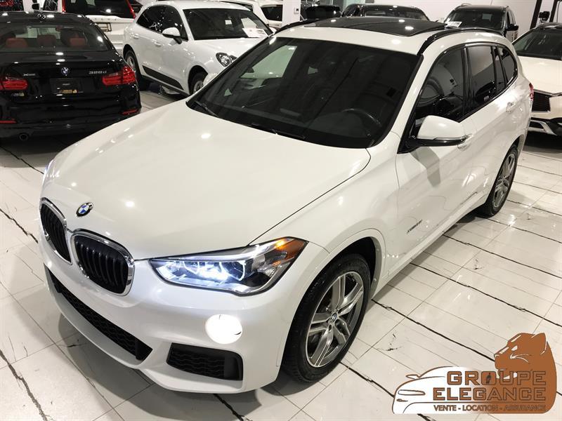 2017 BMW X1 X-DRIVE - M SPORT PKG, PANO ROOF, REVERSE CAMERA, #H5F87702