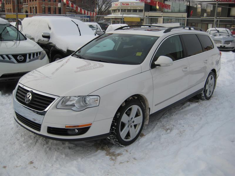 2010 Volkswagen Passat Wagon 4dr I4 DSG #166452