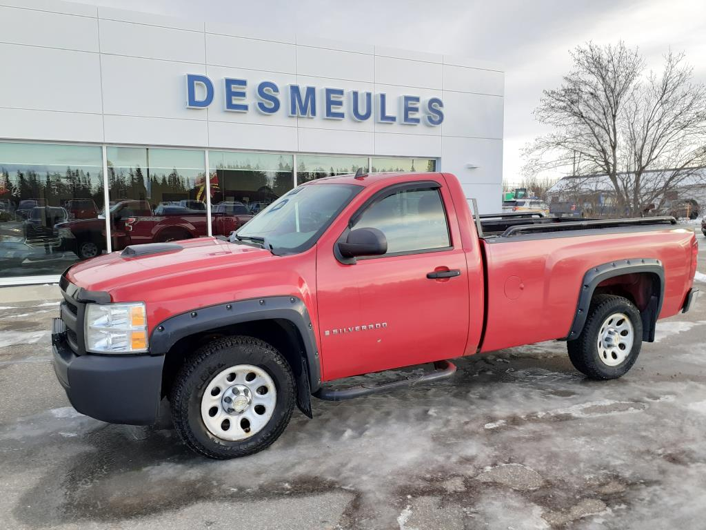 2008 Chevrolet Silverado 1500 2WD Regular Cab