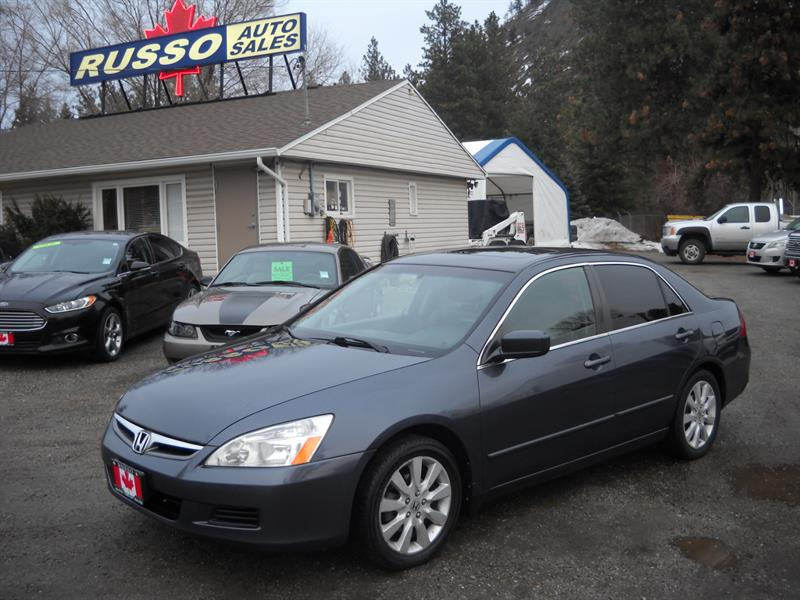 2007 Honda Accord Sdn EX LEATHER V6 #3458