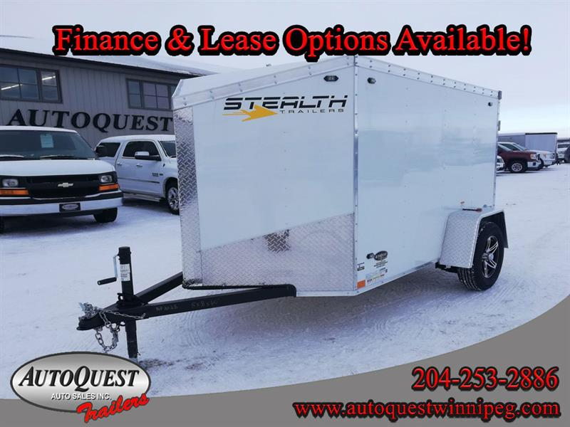 2020 Stealth 5' x 8' V-Nose Cargo Trailer