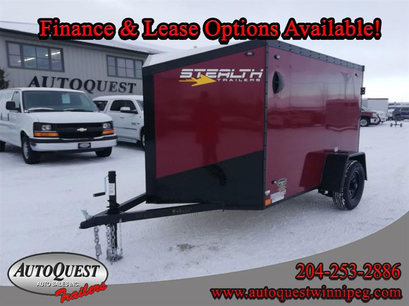 2021 Stealth 5' x 8' V-Nose Cargo Trailer