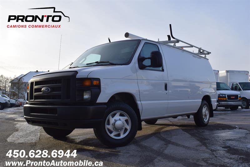 Ford Econoline Cargo Van 2014 E-150 ** 4.6L ** Full Rack ** Comme neuf ** #1211