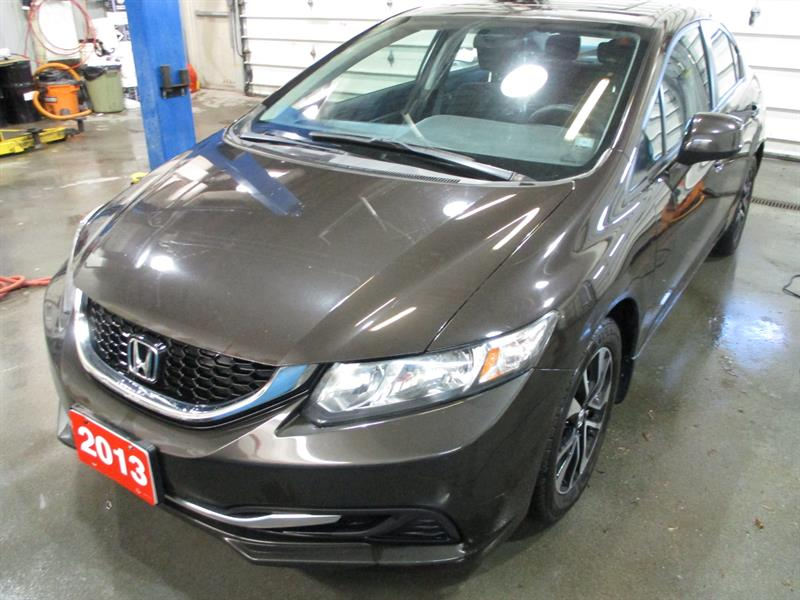 2013 Honda Civic Sdn 4dr Man EX 5 SPEED #DH041248A