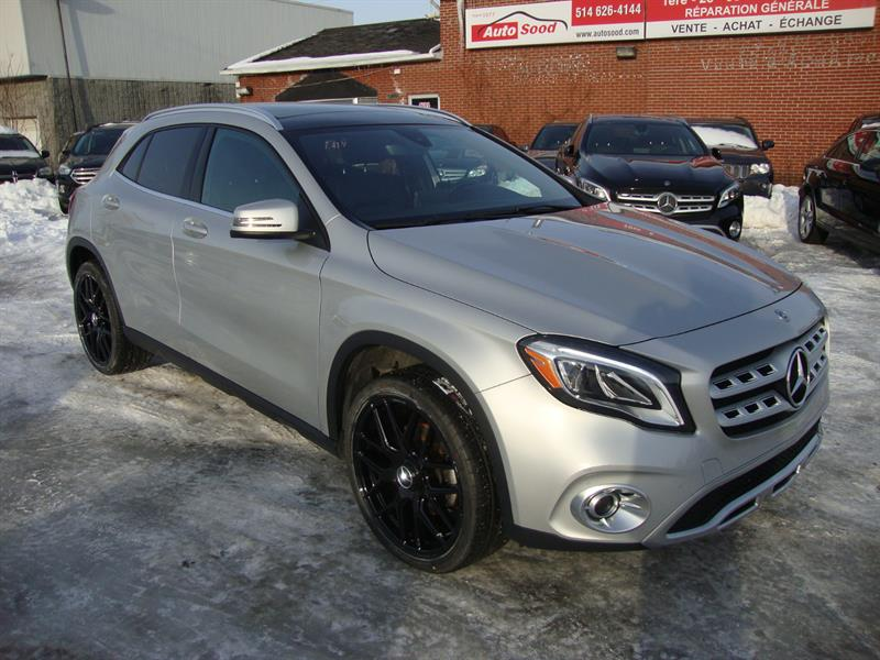 2018 Mercedes-Benz GLA GLA 250 4MATIC AMG NAV-TECH-PANO-20MAGS #M55-6455