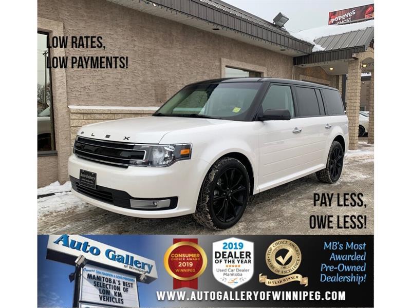 2019 Ford Flex SEL *AWD/Navi/B.tooth/Htd Lthr/Roof/7Pass/V6 #24295
