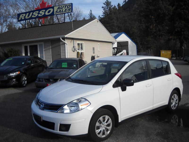 2011 Nissan Versa 5DR HB  ONLY 118 KMS #3457