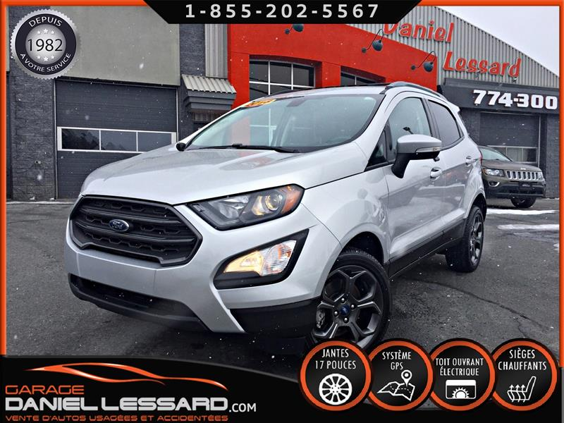 Ford EcoSport 2018 37KM, SES, AWD, GPS, TOIT OUVRANT, MAG 17'' ET +++ #89180