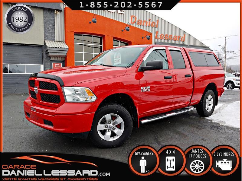 Dodge Ram 1500 2013 ST, 4WD, QUAD CAB, 4.7 L, CABINE DE FIBRE #39644