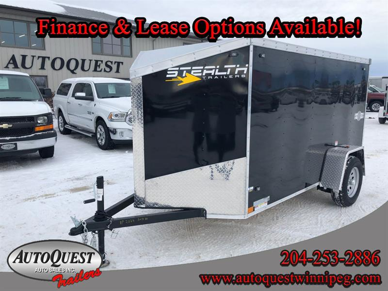 2020 Stealth 5' x 10' V-Nose Cargo Trailer