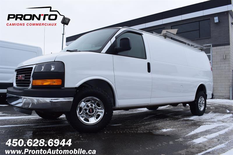 GMC Savana Cargo Van 2014 2500 155 Allongé Extended ** Gr. Electrique **   #1217