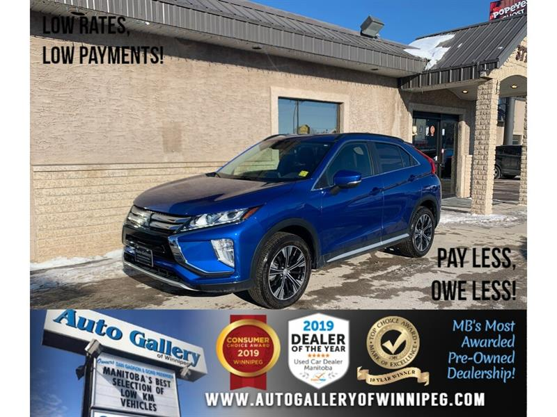 2018 Mitsubishi Eclipse Cross SE *AWD/B.tooth/Back.Cam/Htd Seats #24293