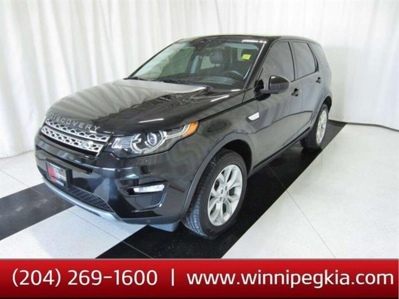 2016 Land Rover Discovery Sport HSE #16LD99136