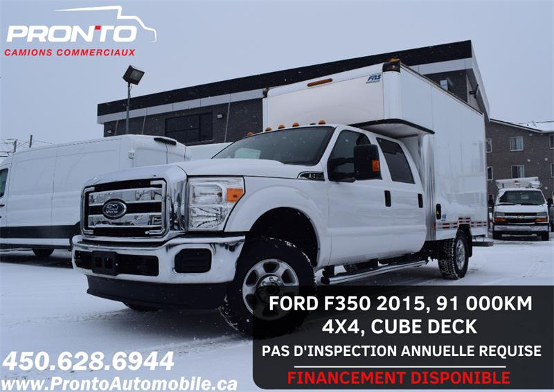 Ford Super Duty F-350 SRW 2015 4X4 ** Sans inspection annuelle ** #1222